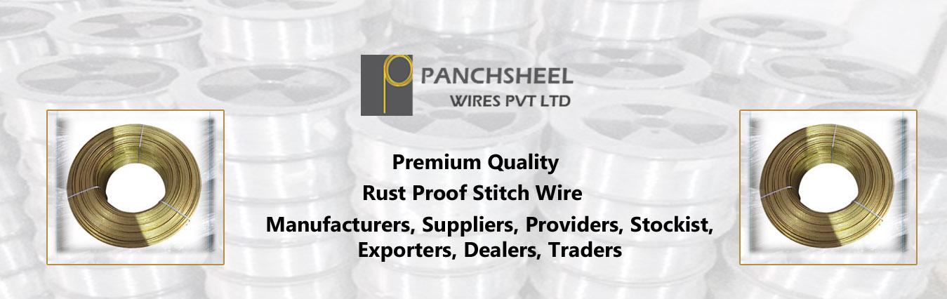 Rust Proof Stitch Wire
